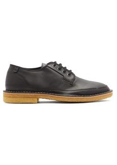 Lanvin Round-toe matte-leather derby shoes