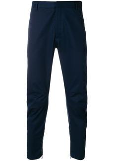 Lanvin ruched biker trousers - Blue