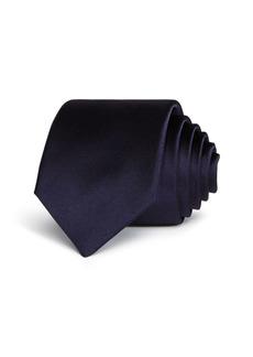 Lanvin Satin Skinny Necktie