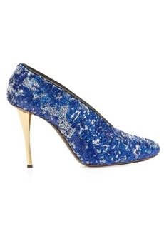 Lanvin Sequin-embellished pumps