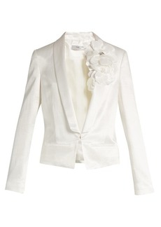 Lanvin Shawl-lapel tuxedo jacket