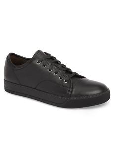 Lanvin Shiny Cap Toe Sneaker (Men)