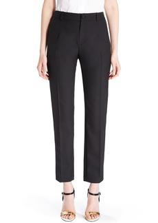 Lanvin Slim Crop Tuxedo Pants