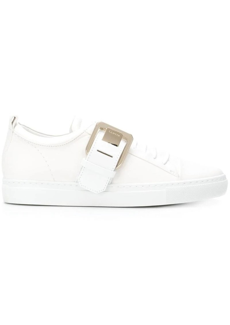 Lanvin buckle sneakers