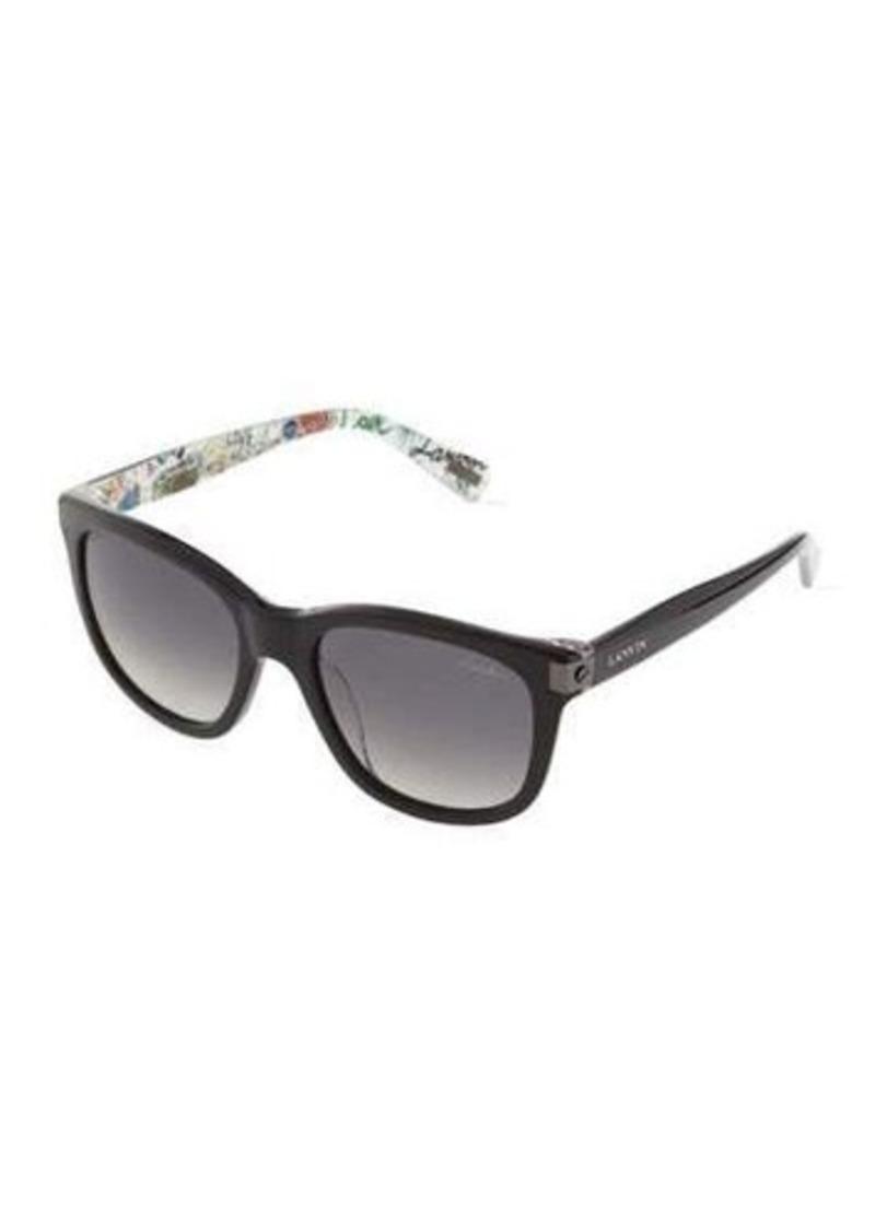 Lanvin Square Plastic Sunglasses