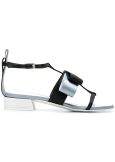 Lanvin square shaped toe sandals