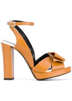 Lanvin strappy sandals - Yellow & Orange