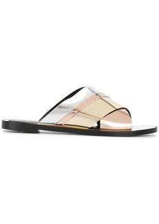 Lanvin stripe sandals - Multicolour