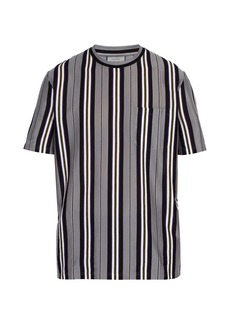Lanvin Striped cotton-jersey T-shirt