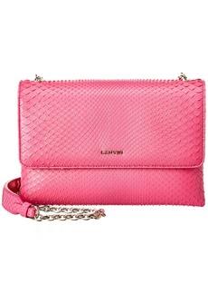 Lanvin Sugar Small Python Shoulder Bag