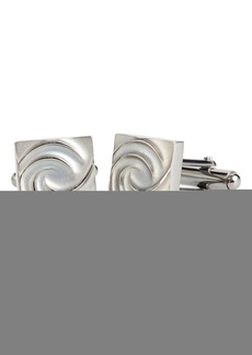 Lanvin Swirl Square Cuff Links