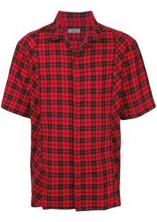 Lanvin tartan checked shirt - Red