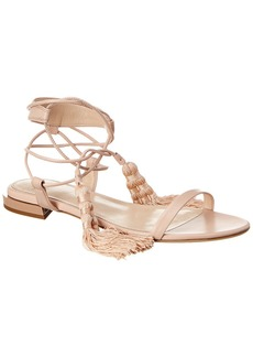 Lanvin Tassel Leather Sandal