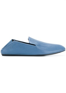 Lanvin textured loafers - Blue