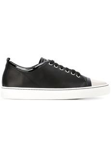 Lanvin toe cap sneakers - Black