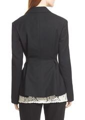 Lanvin Two-Button Wool Blazer