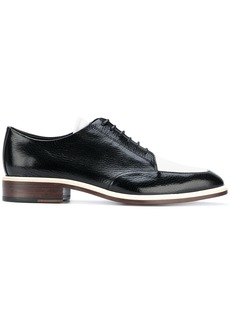 Lanvin two-tone Derby shoes - Black