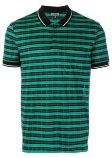 Lanvin two-tone polo shirt - Green