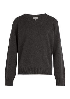 Lanvin V-neck wool and cashmere-blend sweater