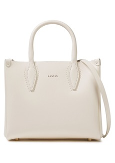 Lanvin Woman Nano Journée Leather Tote Off-white