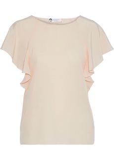 Lanvin Woman Silk Crepe De Chine Blouse Blush