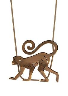 Lanvin Women's Bar Pendant Necklace