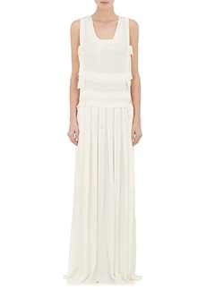 Lanvin Women's Charmeuse Sleeveless Gown