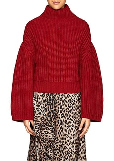 Lanvin Women's Chunky Wool-Blend Sweater