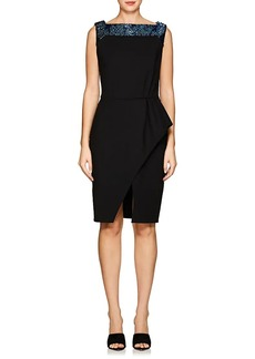 Lanvin Women's Embellished Wool-Blend Cocktail Dress