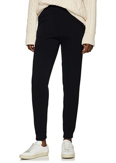 Lanvin Women's Grosgrain-Striped Wool-Blend Jogger Pants