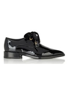 Lanvin Women's Grosgrain-Trimmed Derbys-BLACK Size 7
