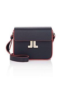Lanvin Women's JL Leather Crossbody Bag - Blue