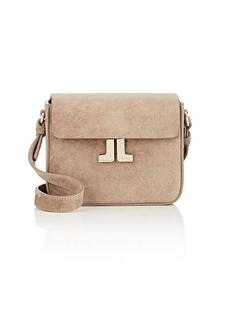 Lanvin Women's JL Mini Suede Crossbody Bag - Gray