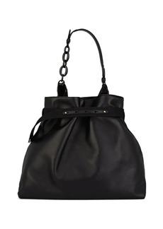 Lanvin Women's Leather Hobo Bag - Black