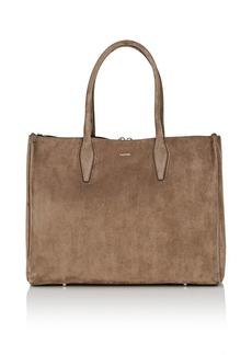 Lanvin Women's Medium Suede Shopper Tote Bag
