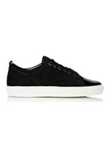 Lanvin Women's Patent-Cap-Toe Sneakers