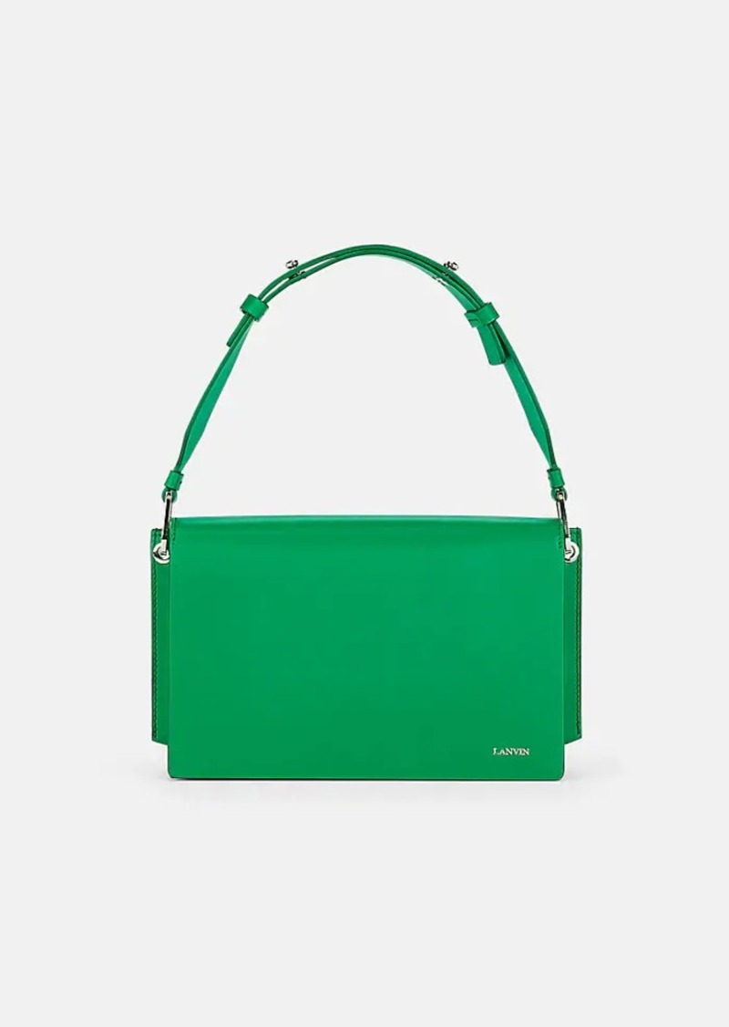 Lanvin Women's Pixel-It Leather Crossbody Bag - Green
