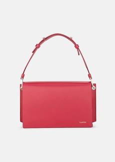Lanvin Women's Pixel-It Leather Crossbody Bag - Pink