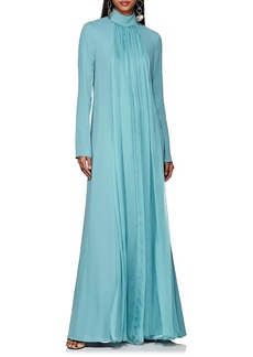 Lanvin Women's Pleated Silk Chiffon Gown