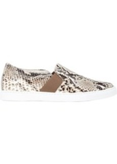 Lanvin Women's Python Slip-on Sneakers-NUDE Size 7