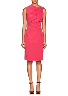 Lanvin Women's Ruched Cady Cocktail Dress
