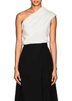 Lanvin Women's Silk One-Shoulder Top