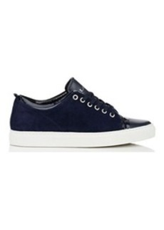 Lanvin Women's Suede & Leather Low-Top Sneakers