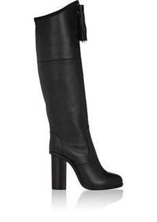 Lanvin Women's Tassel-Embellished Leather Knee Boots