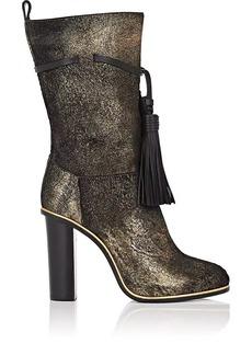 Lanvin Women's Tassel-Tied Mid-Calf Boots