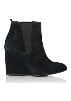 Lanvin Women's Wedge Chelsea Booties