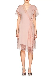 Lanvin Women's Wool-Blend Wrap Dress