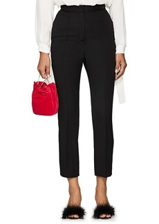Lanvin Women's Wool Slim Trousers