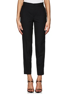 Lanvin Women's Wool Slim Tuxedo Trousers