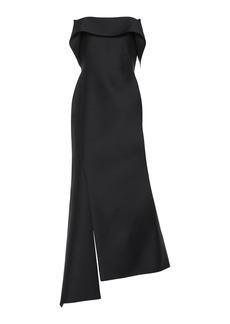 Lanvin Wool-Silk Midi Dress
